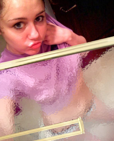 Miley Cyrus Shower on Miley Cyrus Myspace Shower B Jpg
