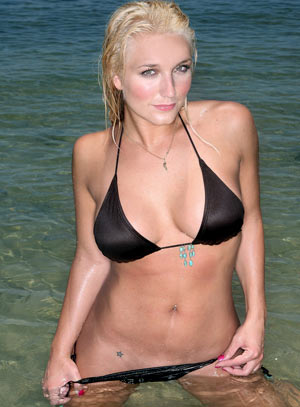 Brooke Hogan is the epitome of Wal-Mart-Hot. She has obviously surrounded ...